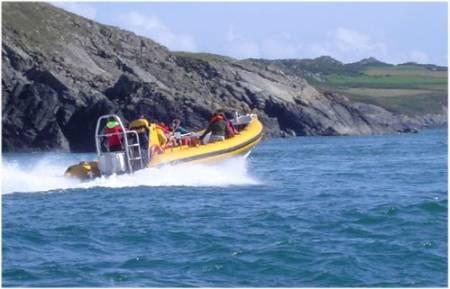Pembrokeshire Venture Jet Boat Experience
